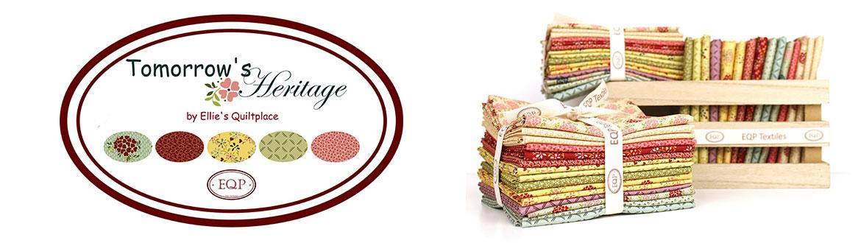 EQP Tomorrow's Heritage, la nuova collezione per l'autunno 2021 disegnata da Ellie's Quiltplace